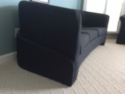 Contemporary custom fabric couch set
